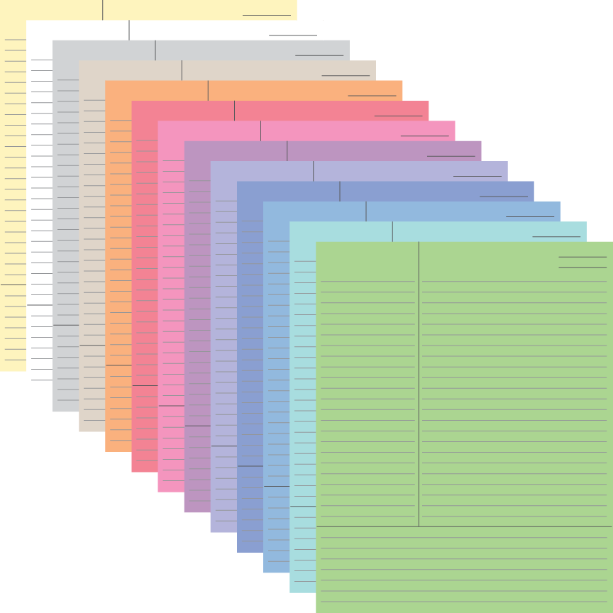 Cornell Notes – Cornell Notes Paper