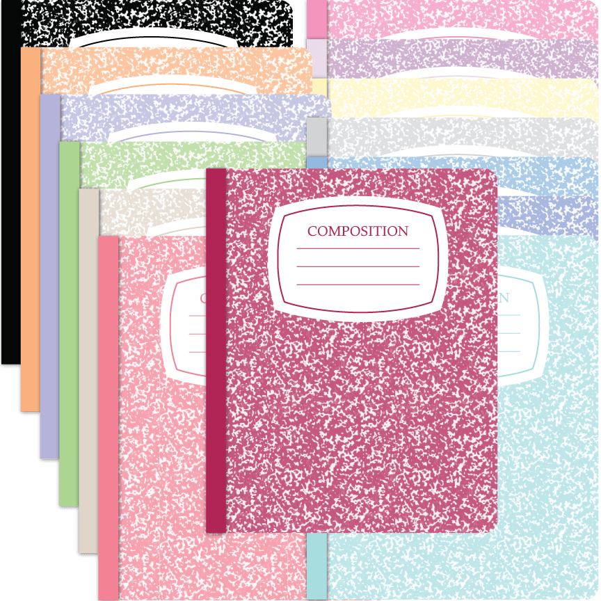 How To Cover A Notebook With Cover Paper ~ Composition notebook covers